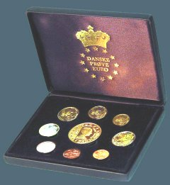 Danish Proof Set in Box