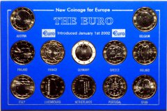 Chard's Own 12 x 1 Euro Coin Set